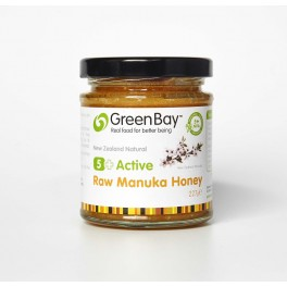 5+ Active Raw Manuka Honey 227g