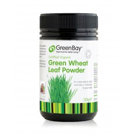 Organic Green Wheat Grass Powder 125g (BEST BEFORE 31AUG-17)
