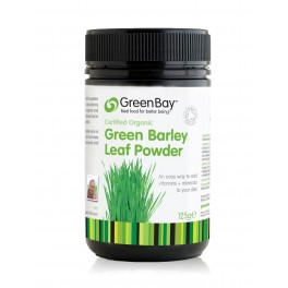Organic Green Barley Grass Powder 125g