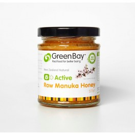 8+ Active Raw Manuka Honey 227g