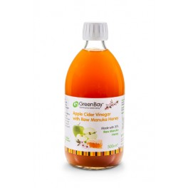 Apple Cider Vinegar with Raw Manuka Honey 500ml